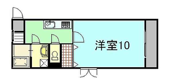 パイナリィ 3階の賃貸【広島県 / 広島市南区】