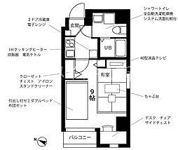 プチグランデプレミア[8階]の間取り