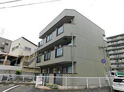 兵庫県神戸市灘区浜田町4丁目の賃貸アパートの外観