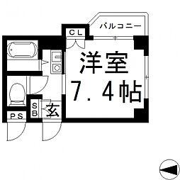 エンゼルハイツ小阪本町[503号室号室]の間取り