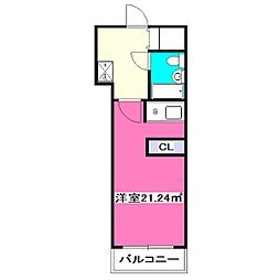 ユーエフ第4パレス[2階]の間取り