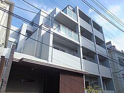 東京都新宿区岩戸町の賃貸マンションの外観
