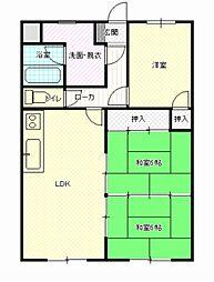 高井マンション[104号室]の間取り