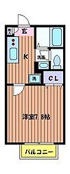 リッツ・ソフィア[2階]の間取り