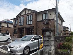 愛媛県伊予郡松前町大字筒井の賃貸アパートの外観