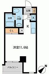 アーバンパーク新横浜[0612号室]の間取り