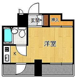 アルカディア甲子園口[4階]の間取り