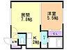 間取り,1LDK,面積32.94m2,賃料4.3万円,JR学園都市線 八軒駅 徒歩4分,JR函館本線 琴似駅 徒歩13分,北海道札幌市西区八軒六条東4丁目1番8号