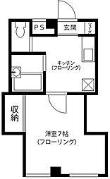 KRDビル[4階]の間取り