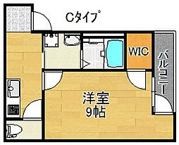フジパレス住吉沢之町II番館[3階]の間取り