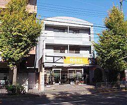 京都府京都市右京区常盤段ノ上町の賃貸マンションの外観