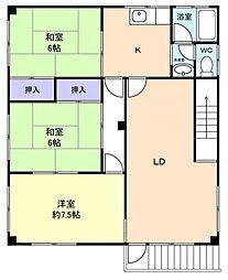 金杉3階建てビル[3階]の間取り