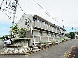 東京都町田市森野5丁目の賃貸アパートの外観