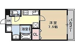 リベロ上田[201号室号室]の間取り
