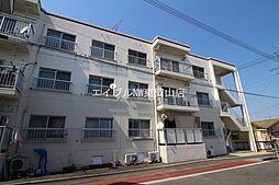 岡山県岡山市中区平井7丁目の賃貸マンションの外観