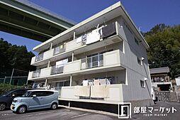 愛知県豊田市松平志賀町四反田の賃貸マンションの外観
