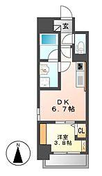 ポルタニグラ大須[2階]の間取り