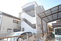 埼玉県越谷市宮本町1の賃貸アパートの外観