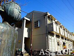 東京都杉並区永福1丁目の賃貸アパートの外観