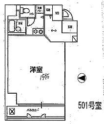 ディアコートセンバ[5階]の間取り