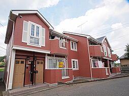 群馬県安中市中宿の賃貸アパートの外観