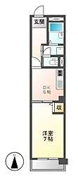 アーバンライフ金山II[3階]の間取り