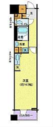 LA.PRYLE新横浜[3階]の間取り