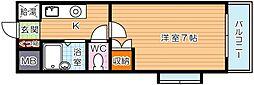 パノラマプラザ[7階]の間取り