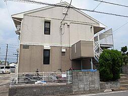 千葉県市原市東五所の賃貸アパートの外観