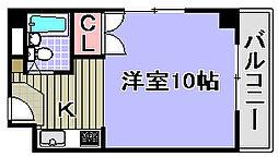 シーサイドパレス堺町[505号室]の間取り