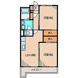 第3メゾン藤沢[2階]の間取り