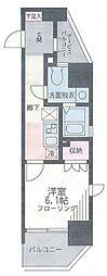 ザ・パーククロス藤沢[8階]の間取り