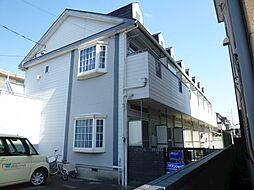 静岡県浜松市中区小豆餅4丁目の賃貸アパートの外観
