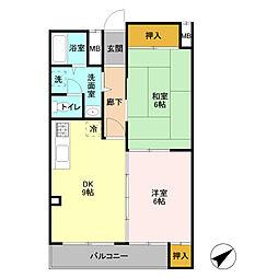 パストラルアサカ[2階]の間取り