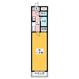 スクエア73[3階]の間取り