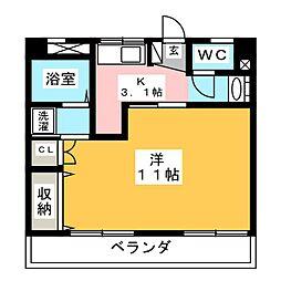 松田ビル[2階]の間取り