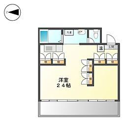 ノイエシュトラッセ山木田ビル[6階]の間取り
