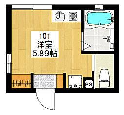 新高円寺新築計画[101号室]の間取り