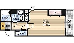 サニーセレクトコーポ[2階]の間取り