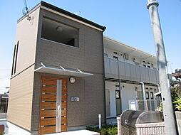 大阪府四條畷市砂2丁目の賃貸アパートの外観