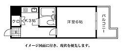 第7片山ビル[902号室]の間取り