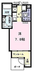 愛知県名古屋市熱田区青池町3丁目の賃貸アパートの間取り