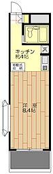 第三双洋ビル[308号室]の間取り