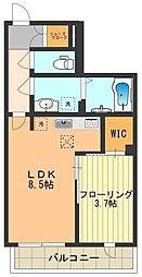 (仮)昭島市中神町シャーメゾン[103号室]の間取り
