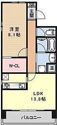 IL ROSSO堀川六角[503号室号室]の間取り