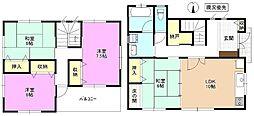 [一戸建] 長野県長野市稲里町中央3丁目 の賃貸【/】の間取り