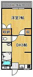サントピア[3階]の間取り