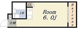 エイショウコーポ[4階]の間取り