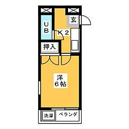 ATS千代田橋ハイツ[4階]の間取り