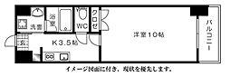 ウイング舟入川口町[1003号室]の間取り